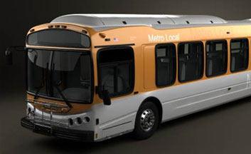 Bus 3D models