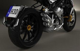 Motorcycle 3D models