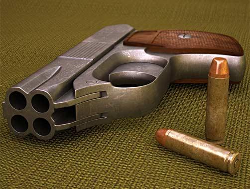 Weapon 3D models