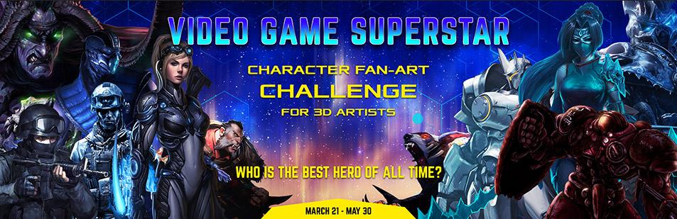 Hum3D Video Game SuperStar